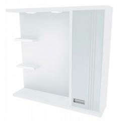 Зеркальный шкафчик Леос Victoria Z2-80, белый