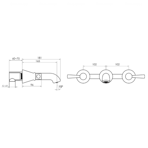 Смеситель для раковины Imprese Podzimu Zrala ZMK02170803