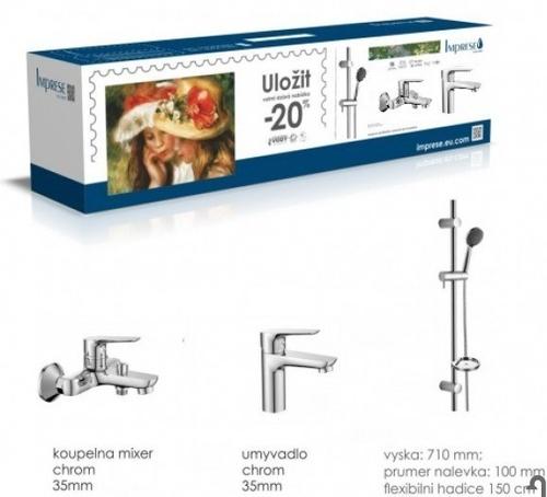 Набор смесителей Imprese Kit20080