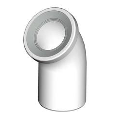 Колено для унитаза Alca plast A90-45