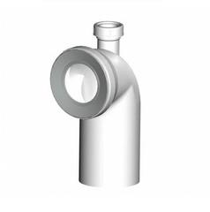 Колено для унитаза Alca plast A90-90P40