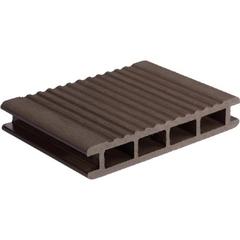 Террасная доска ARS AGT ARS 24140 темно-коричневая