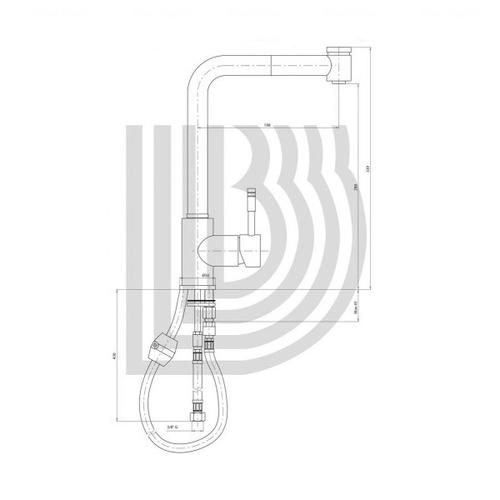 Смеситель для кухни Bianchi Mody (LVMMDY2008ACRM)