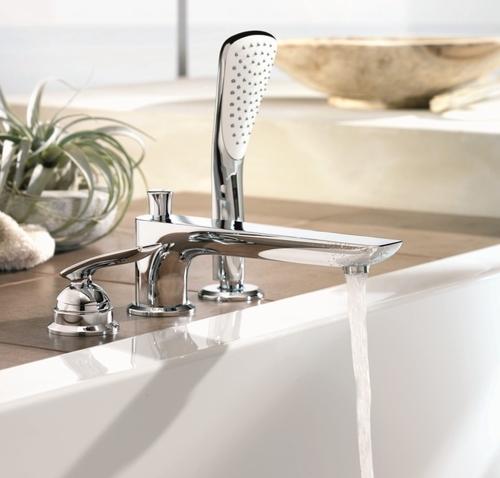 Смеситель для ванны и душа Kludi Balance 524470575 хром хром