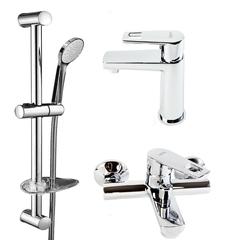 Набор смесителей для ванны Volle Benita 15171100+15172100+1514610