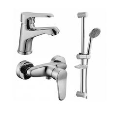 Набор смесителей для ванны и душа Imprese Witow 05080+15080+R670SD