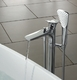 Смеситель напольный для ванны и душа Kludi Ambienta 535900575