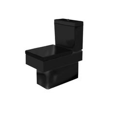 Унитаз напольный Duravit Vero черный, для комплектации бачком