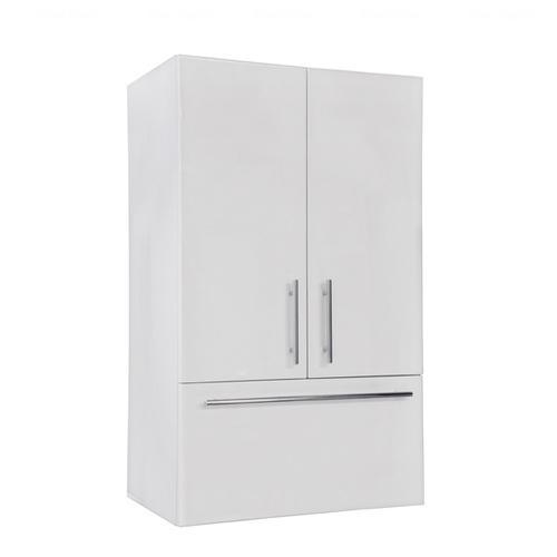Навесной шкафчик Fancy Marble SCLM (ПНС) белый глянец белый глянец
