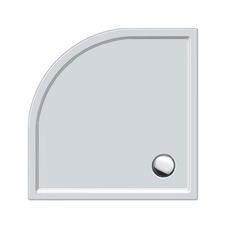 Душевой поддон Duravit Starck Slimline, угловой 900х900 мм
