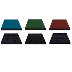 Плитка резиновая Eco Standard премиум класс