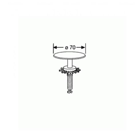 Пробка Kludi Ø 70 мм (7060405-00)