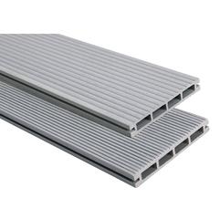 Террасная доска PolymerWood Lite Серый 2200х138х19 мм