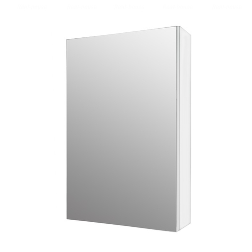 Шкафчик зеркальный Fancy Marble MC-450 (ШЗ-450) белый / серый белый / серый